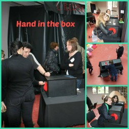 Hand in the box