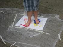 Sélect peinture pied