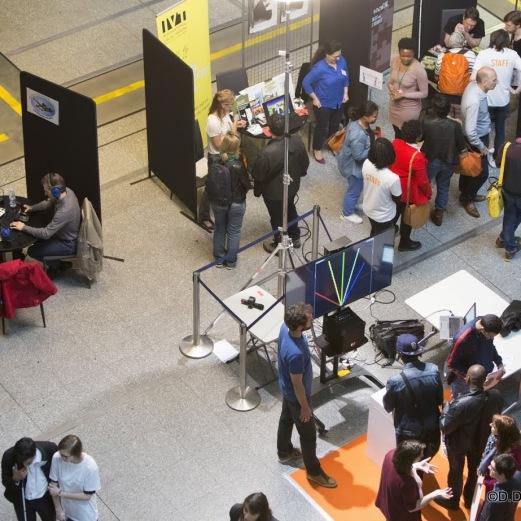 Reportage le samedi 18 juin 2016 aux rencontres SENS LAB à la Cité des Sciences et de l'Industrie© David Delaporte / Andia.fr